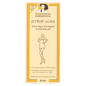 Strip Wax - 10 stk.